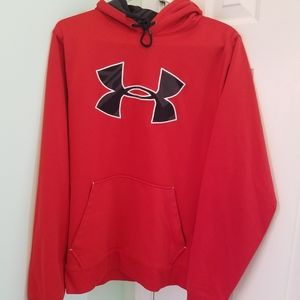 Mens size medium loose fit Under Armour hoodie